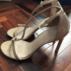 Stuart Weitzman Nudistsong Sandals/Heels
